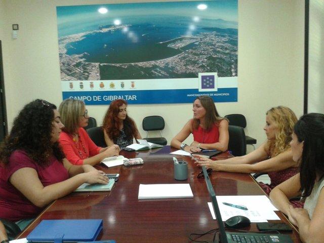 Encuentro con municipios de la Mancomunidad de Campo de Gibraltar