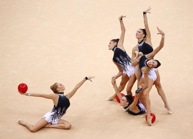 Selección española gimnasia rítmica