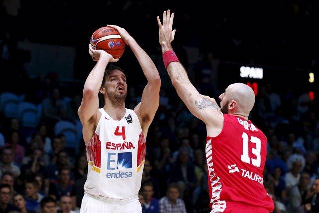 Pau Gasol pone a España en los cuartos del Eurobasket