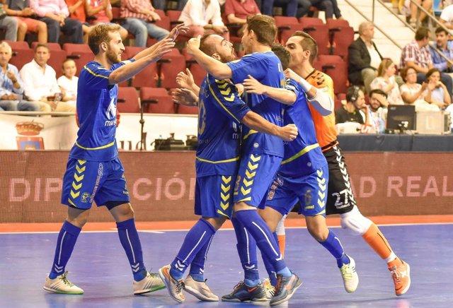 El Movistar Inter derrota al Jaén en la Salobreja