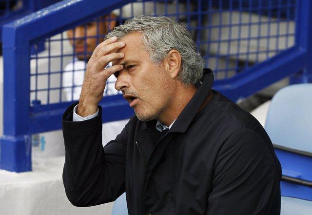 Mourinho tras perder ante el Everton en la Premier