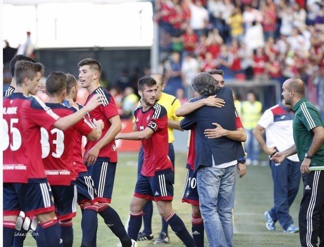 Osasuna vence en Liga