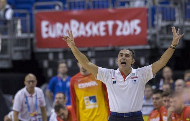 Islandia vs España, Sergio Scariolo