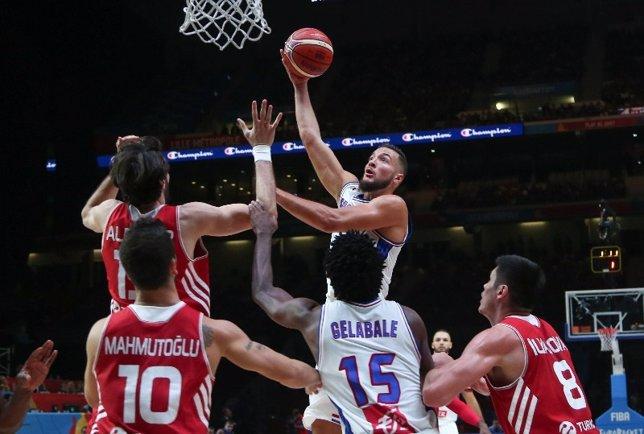 La selección de Francia accede a cuartos de final del Eurobasket