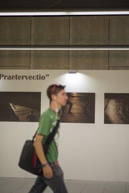 Exposición fotografía ruiz espejo el perchel metro presentación