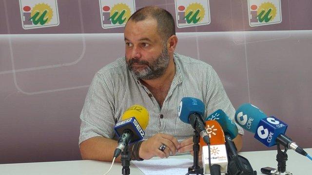 Rafael Sánchez Rufo, responsable provincial de Organización de IUL-CA en Huelva.