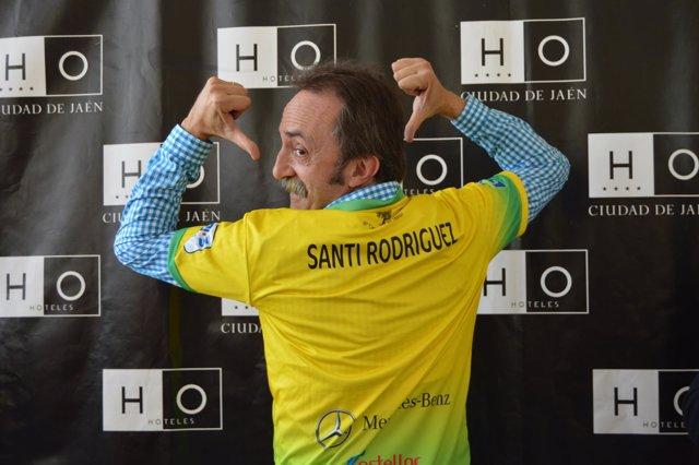 El actor Santi Rodríguez, socio de honor del Jaén Paraíso Interior