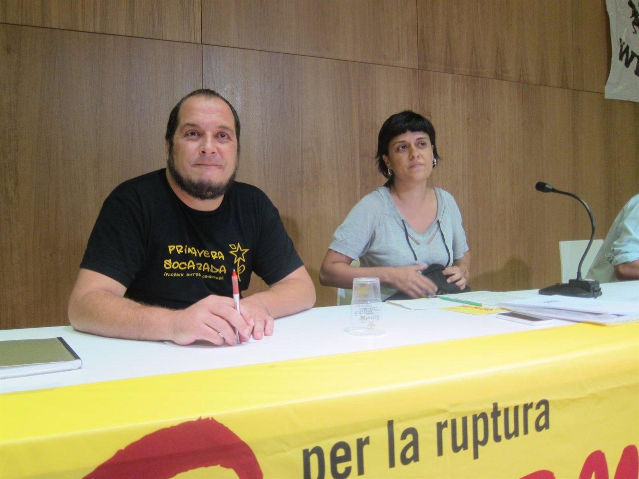 David Fernández, Anna Gabriel (CUP)