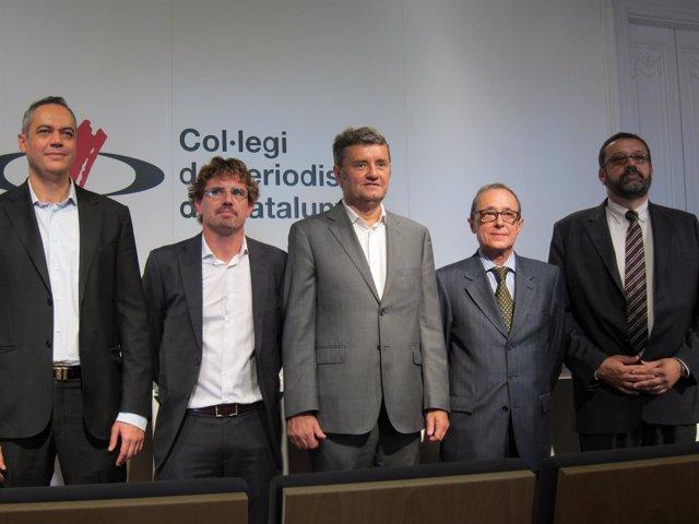 Mingo Olmos, Albano Sánchez-Ossorio, Miquel Darnés, Ramon Lluís Lletjós y X.Font