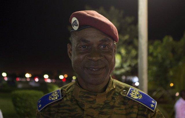 El general Diendere, jefe de la junta militar en Burkina