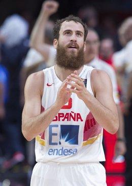 España - Grecia, Sergio Rodriguez