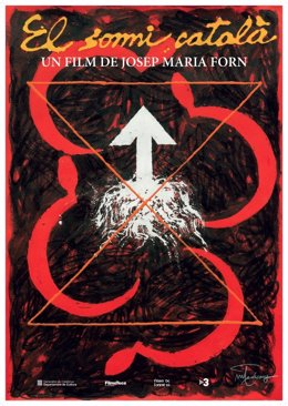 Cartel de Joan-Pere Viladecans de la película 'El somni català'