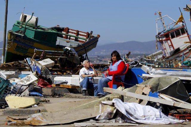 Consecuencias del terremoto en Coquimbo, Chile