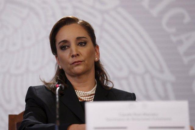 Claudia Ruiz Massieu, ministra de Asuntos Exteriores de Mexico