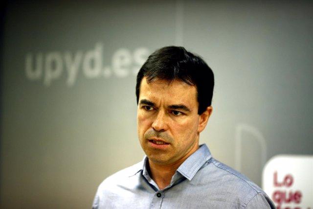 El portavoz nacional de UPYD, Andrés Herzog
