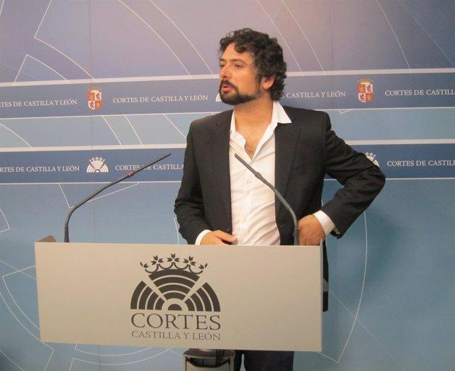 El procurador de IU, José Sarrión