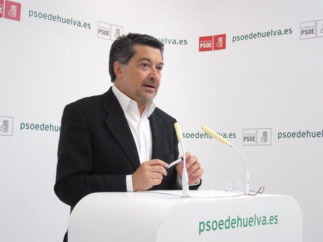 El Diputado Nacional Javier Barrero.