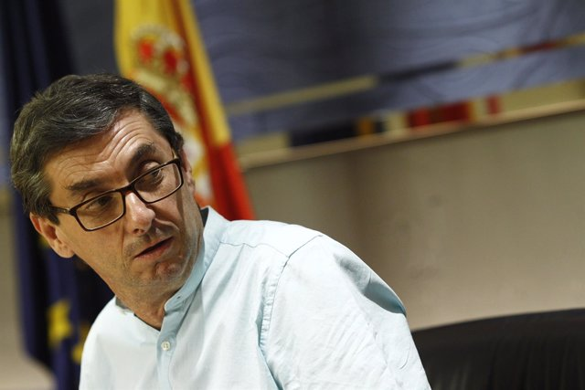 Jose Luis Centella en el Congreso