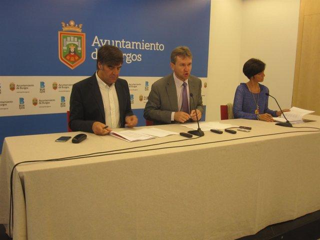 Lacalle, Montes y Gómez prensentan las actividades culturales