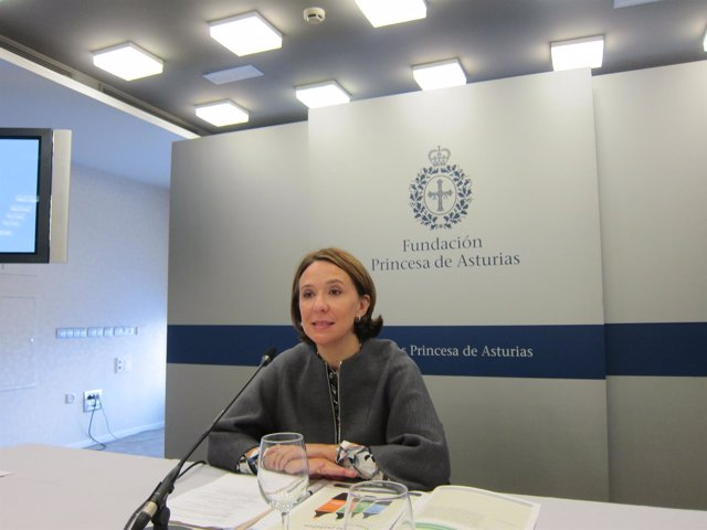 Teresa Sanjurjo, directora de la Fundación Princesa de Asturias