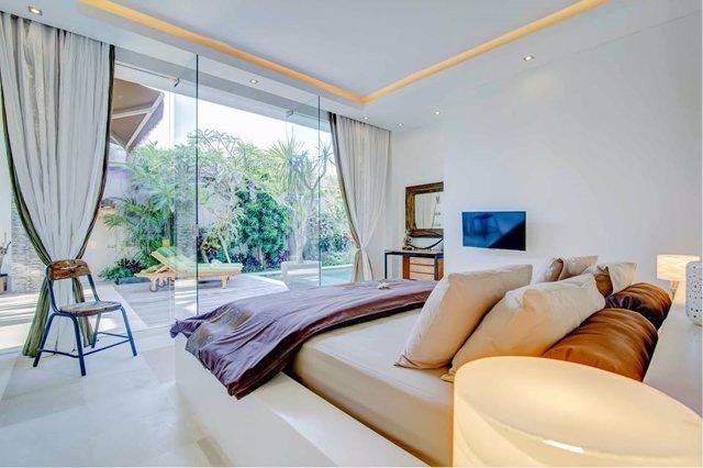 Habitación de apartamento de alquiler vacacional