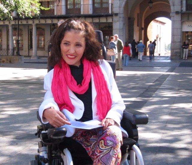 Virginia Feilpe, candidata a las primarias de Podemos para el Senado