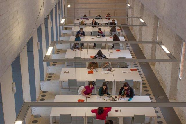 Fundación Comillas sala de estudio