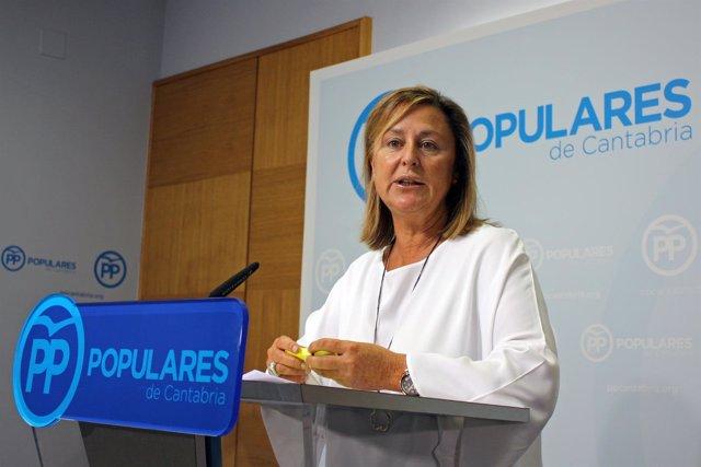Ana Madrazo, diputada del PP por Cantabria