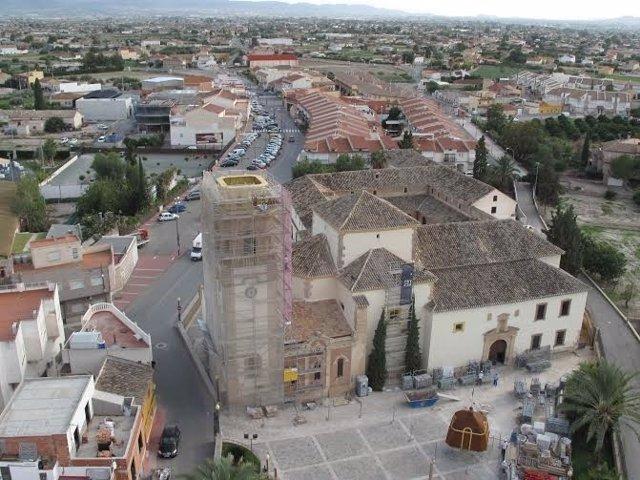 Iglesia Del Convento De Santa María La Real De Las Huertas En Lorca