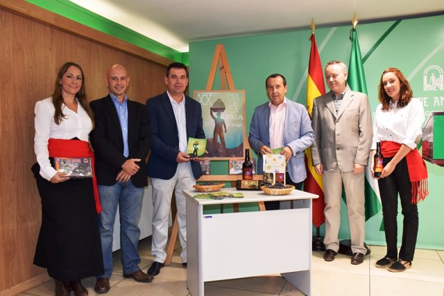 Día de la Pasa El Borge Málaga 20 edición
