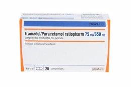Tramadol/paracetamol con miligramos/650 miligramos