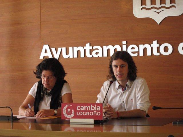 Peña y Solana, en la rueda de prensa