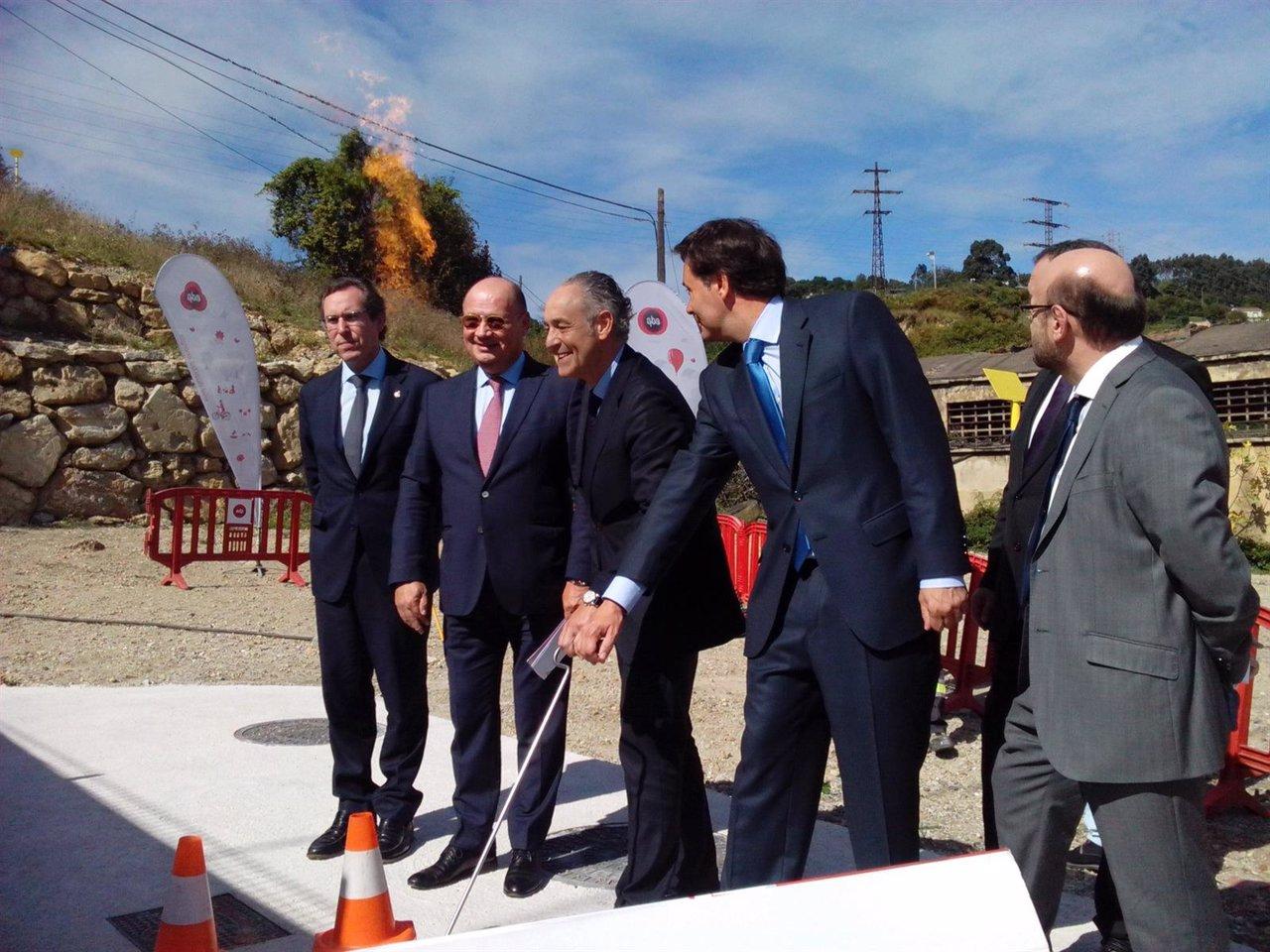 Puesta en marcha gaseoducto EDP en Gijón