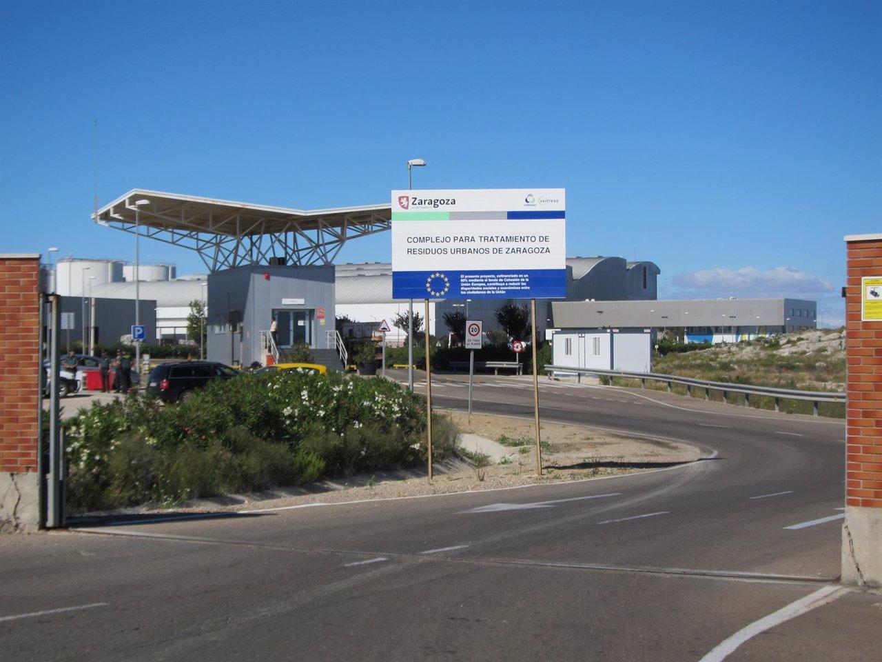 CTRUZ (Ecovertedero) de Zaragoza
