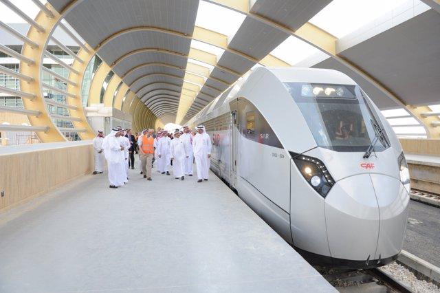 CAF entrega el primer tren del pedido a Arabia