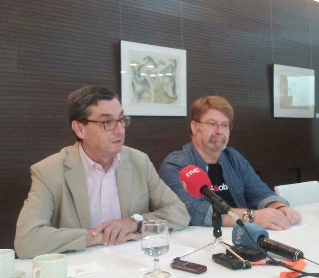 José Luis Centella y Ginéz Fernández