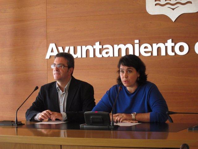 San Martín y Alonso, en la rueda de prensa