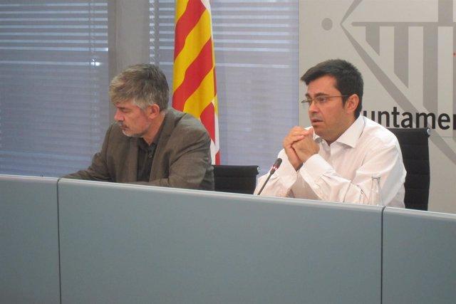 Agustí Colom y Gerardo Pisarello