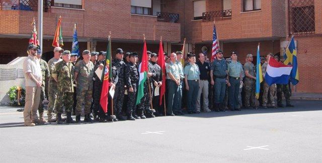 Participantes en el I Campeoanto Internacional de TCCC