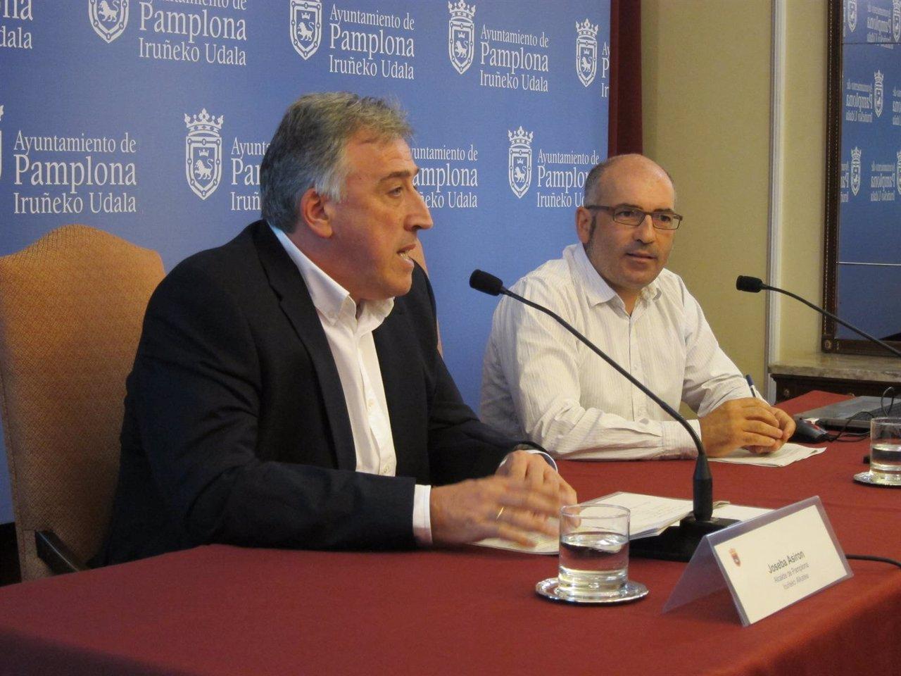Joseba Asiron y Joxe Abaurrea.