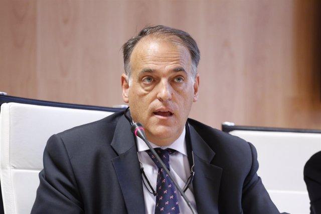 Javier Tebas en el CSD
