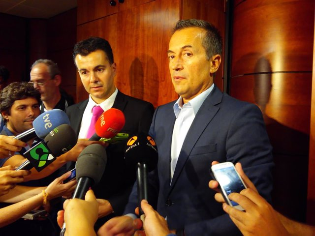 Héctor Gómez y José Miguel Ruano
