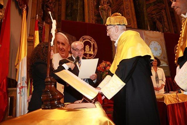Investidura del catedrático de Oftalmología Joaquín Barraquer