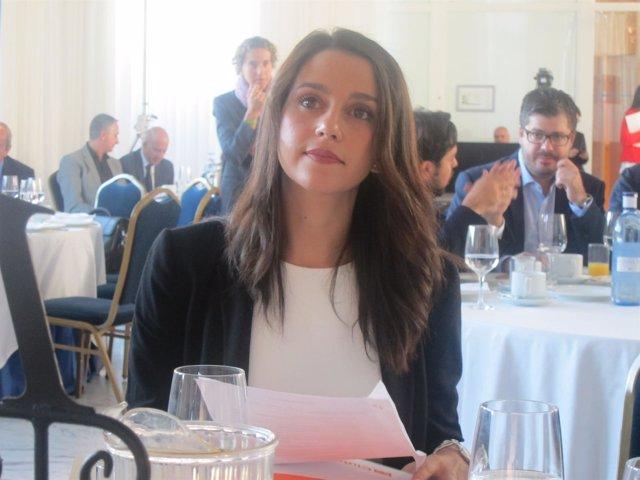 La candidata de C's a presidir la Generalitat, Inés Arrimadas