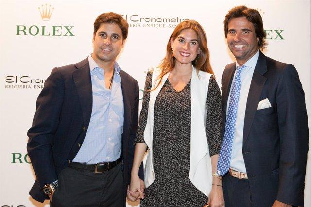 Inauguración de espacio de Rolex en El Cronómetro