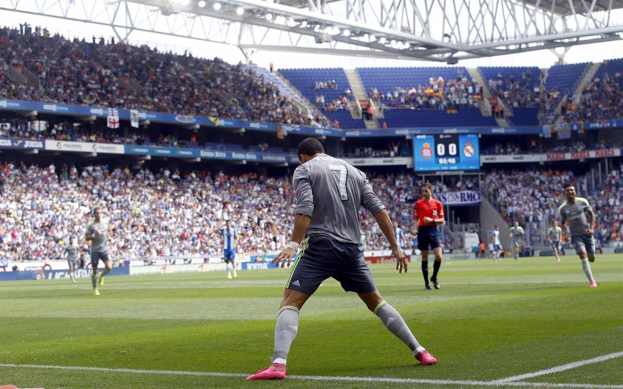 El delantero del Real Madrid Cristiano Ronaldo