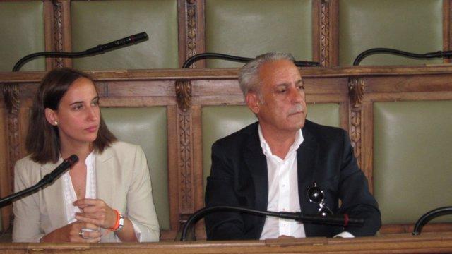 Pilar Vicente y Jesús Presencio