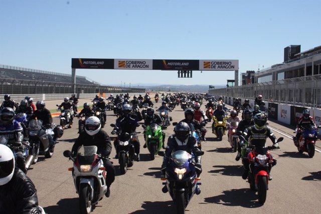 Celebración de la II Ruta Motera en MotorLand