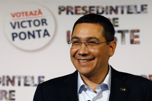 Ponta primer ministro rumania