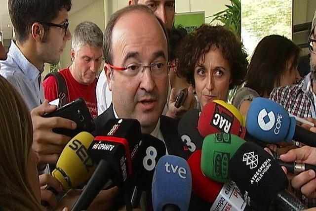 Iceta celebra que la Junta Electoral avale al PSC